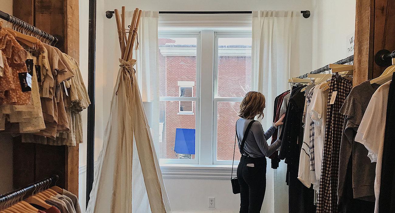 Garde robe zéro déchet