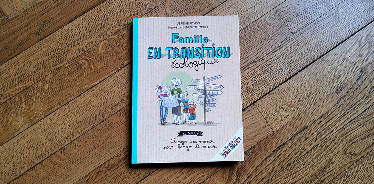 """Couverture du livre """"Famille en transition écologique"""""""
