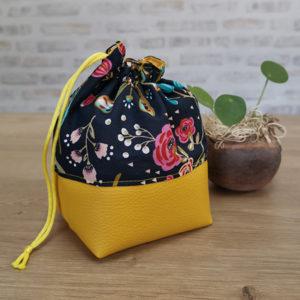 Pochette fleurs jaune - Visuel principal