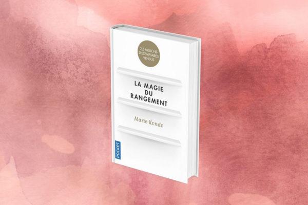 """Visuel du livre """"Ranger : l'étincelle du bonheur"""" de Marie Kondo"""
